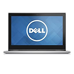 Dell Inspiron i7359-4371SLV 13.3 Inch 2-in-1 Touchscreen Laptop (6th Generation Intel Core i5, 8 GB RAM, 500 GB HDD + 8 GB SSD) , Silver