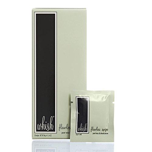 Whish - Flawless Post Wax & Shave Serum Swipe (30 Swipes)