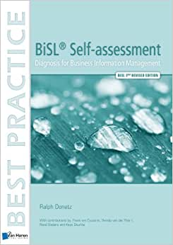 BiSL Self-assessment: Diagnosis For Business Information Management