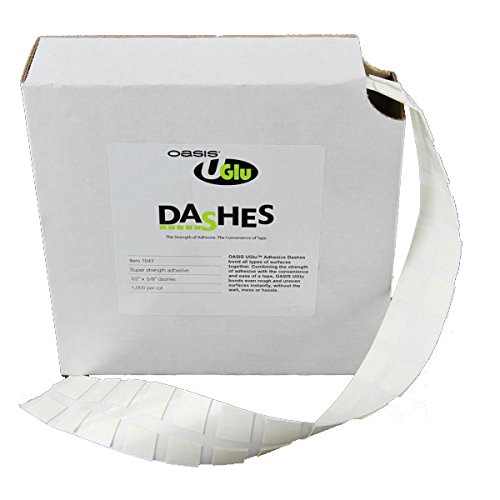 U-Glue Adhesive Dash 1000/roll (Oasis Glue Dots compare prices)
