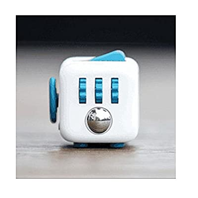 ENJOY Fidget Cube Relieves Stress And Anxiety for Children and Adults (Blue)