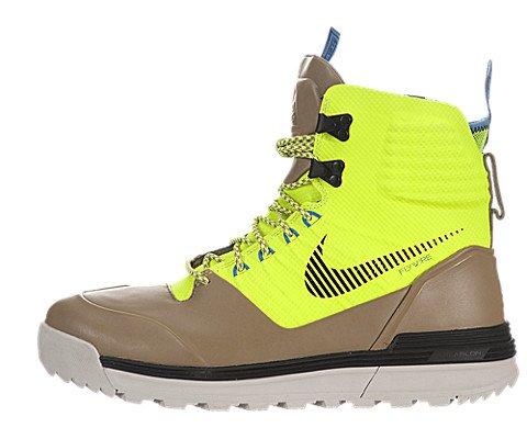 official photos c687b 83b48 The Features Nike Mens Lunar Terra Arktos ACG Winter Boots Volt Black Khaki  616179 700 Size 10 -