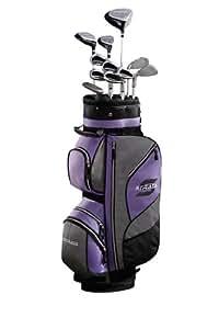 Callaway Golfset Strata, 16 Teile, Graphitschaft schwarz Black/Purple 8 Kg