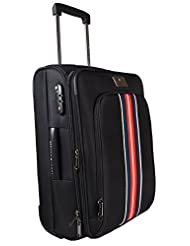 Tommy Hilfiger Panama Polyester Black Luggage Set Small (TH/PAN01055)