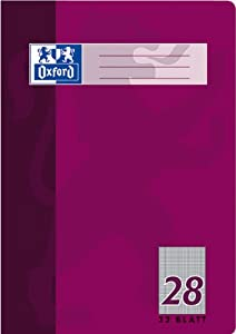 Hamelin Paperbrands Oxford 384403228 School Notepad A4 32 Sheets Line Style 28 Pack of 10