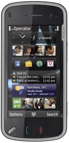 Nokia N97 Smartphone (QWERTZ-Tastatur, GPS, W-Lan, Ovi Karten, Kamera mit 5 MP) black