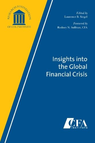 Insights into the Global Financial Crisis