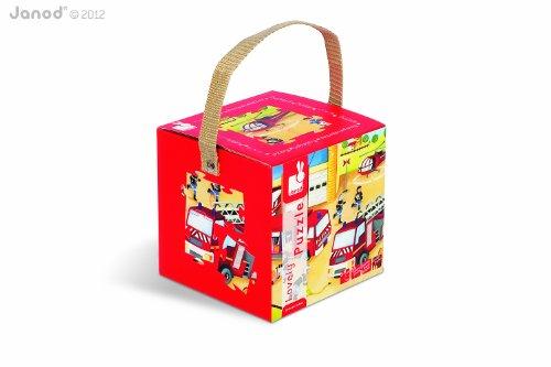 Imagen principal de Janod - Puzzle de bomberos (08502954)