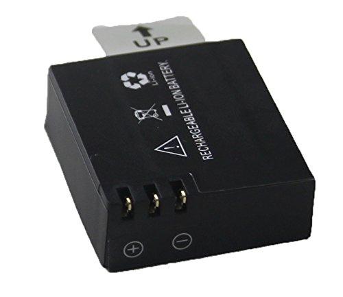 TecTecTec Batterie pour camera action XPRO1 et XPRO2