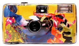 Celebration Birthday Camera - 10 Pack