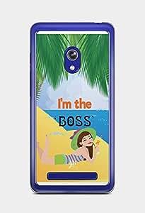 YuBingo I'm the Boss Designer Mobile Case Back Cover for Asus Zenfone 5