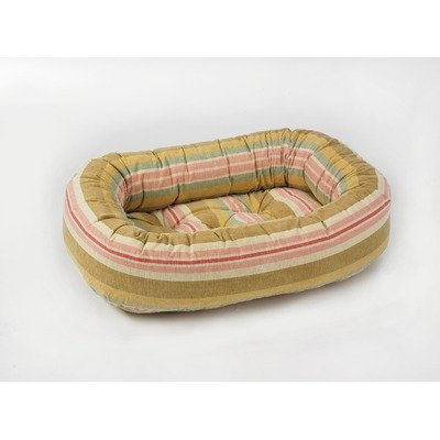 Bowsers Donut Bed - X Donut Dog Bed in Riviera Size: Large (42