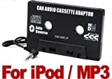 Car Audio Cassette 3.5mm Jack Adaptor For iPod MP3