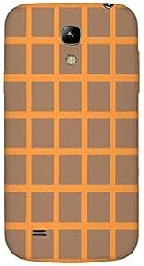 Timpax protective Armor Hard Bumper Back Case Cover. Multicolor printed on 3 Dimensional case with latest & finest graphic design art. Compatible with Samsung I9190 Galaxy S4 mini Design No : TDZ-22507