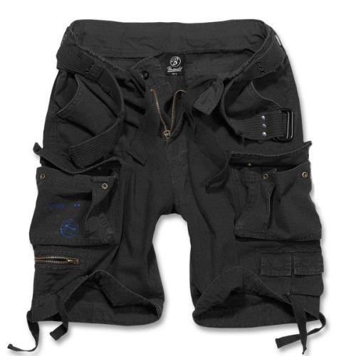 Brandit Savage Gladiator daUomo Cargo Pantaloncini Corti B-2001 - cotone, Nero, 100% cotone, Uomo, 5XL