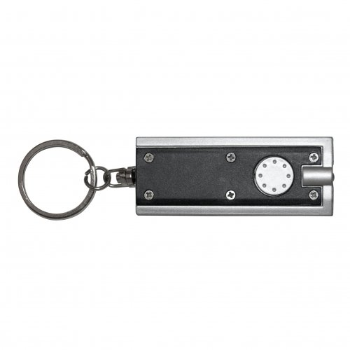 GreatLite 32063 LED Keychain, Silver and Charcoal