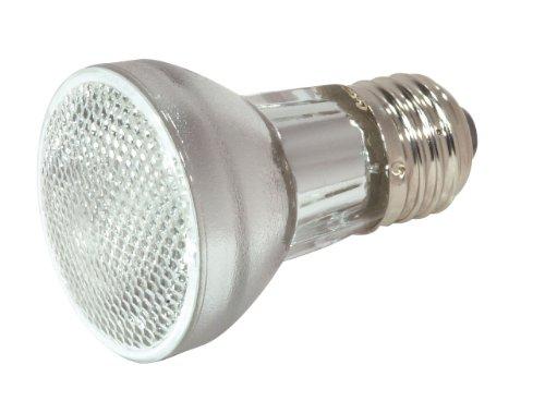 Satco S2200 120V 45-Watt Par16 Medium Base Light Bulb With Nfl 30 Beam Pattern, Clear