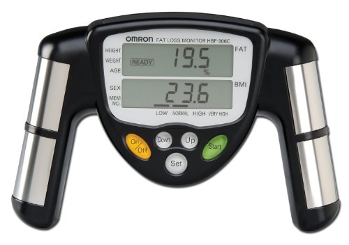 Omron Body Fat Loss Monitor model HBF-306C(Black)