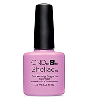 CND Shellac Garden Muse Summer 2015 Collection (0.25 fl.oz.)_Beckoning Begonia - C90797