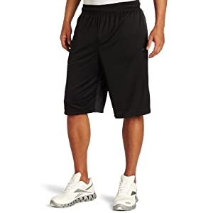 Reebok Men's Zig F10 Short, Black/Gravel, X-Large
