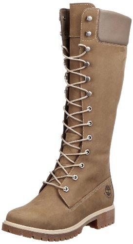 bottes et boots timberland woms prem 14in femmes bottes femme taupe nubuck 38 eu 7 us. Black Bedroom Furniture Sets. Home Design Ideas