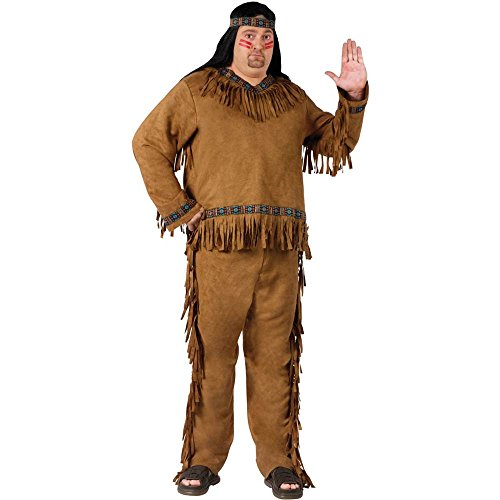 Native American Man Plus Size Costume - Plus Size