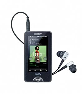 Sony NWZX1050B X Series 16GB MP4 Walkman with WIFI