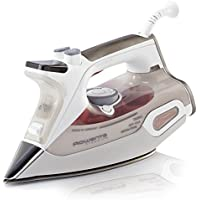 Rowenta DW9081 Steamium 1800 Watt Electronic Steam Iron Stainless Steel Soleplate