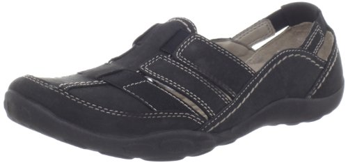 Clarks Women's Clarks Haley Stork Loafer,Black,9 M US