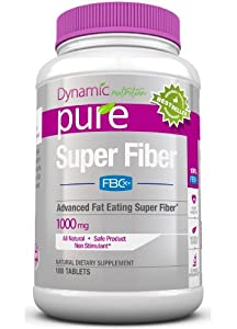 SUPER FIBER with FBCX Revolutionary New Patented WEIGHT LOSS Fiber Product Just released on Dr Oz to Lose Weight that binds to and Eliminates up to 9 times its weight in fat and reduces calorie absorption by up to 500 fat calories a day, Better than Garcinia Cambogia Raspberry Ketones or Green Coffee Extract Combined, 2000mg per serving, 180 count bottle