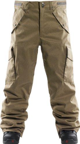 Foursquare Gasket Ski Snowboard Pants Walnut Sz XS