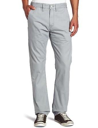 (暴降)李维斯 Levi's Men's Light Weight Twill Pant 男士全棉休闲裤 灰 $25.38