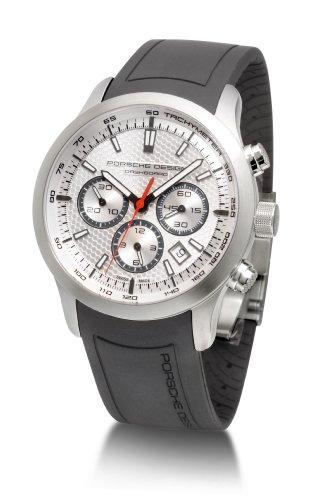 Porsche Design - 661211111190 - Montre Homme - Automatique - Chronographe - Chronomètre - Bracelet Caoutchouc Noir
