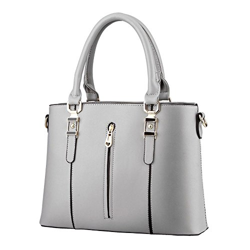 koson-man-da-donna-vintage-in-pelle-sintetica-con-cerniera-maniglia-superiore-borsa-tote-bags-grigio