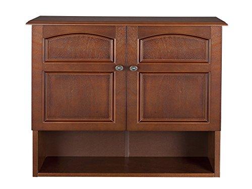 Elegant Home Fashions 2 Door Marcy Wall Cabinet Veneer Classic 2 Door Cabinet