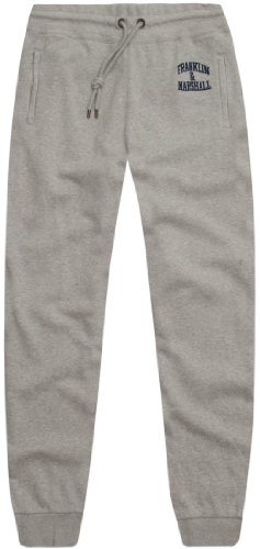 Franklin & Marshall Men's Fleece Long Pant Pamc087W12 Trousers Grey (Ontario) 54
