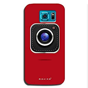 Mozine Camera Lover printed mobile back cover for Samsung s6