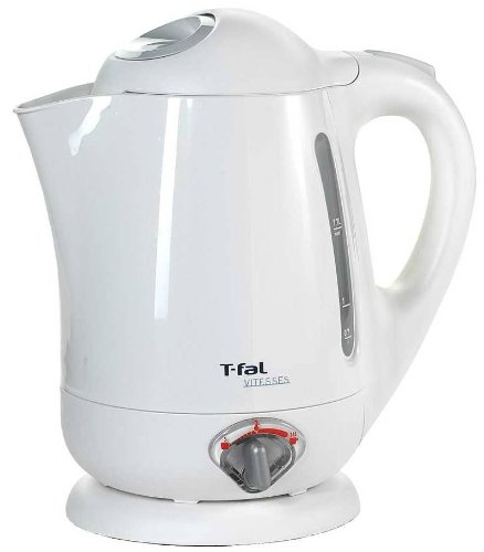 T-Fal Bf652 Vitesses 1.7-Liter Electric Kettle With Variable Temperature, White