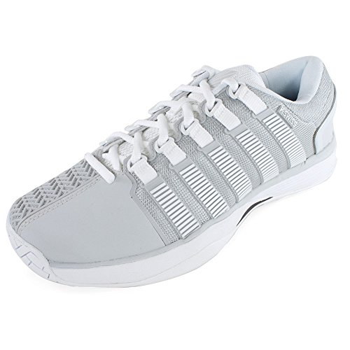 K-Swiss Hypercourt Mens Tennis Shoes (Glacier Gray/White) (10 D(M) US)