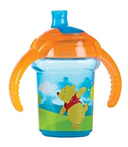 Munchkin Click Lock - Taza de entrenamiento para niños con diseño de Winnie the Pooh, 7 oz/207 ml, surtido de colores por Munchkin