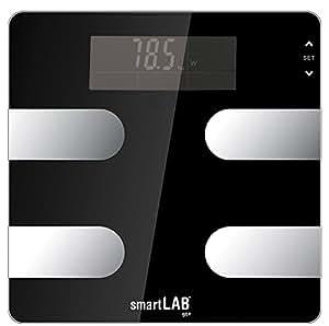 smartLAB fit+ Körper Analyse Waage mit ANT+ drahtlose Datenübertragung jetzt mit 6 Monate fitmefit.com Premium Account Kostenlos
