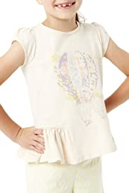Autograph Pure Cotton Balloon T-Shirt [T77-5832N-Z]