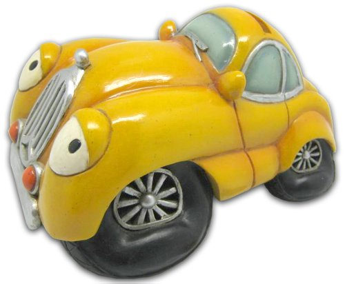 Bollo Regalo Yellow Car Bank C127-45 - 1