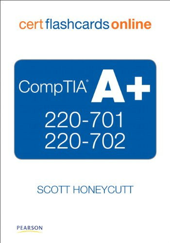 CompTIA A+ 220-701 and 220-702 Cert Flash Cards Online, Retail PackageVersion