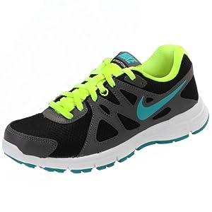 Nike Boys Revolution 2 Running Shoes, Black, 6.5 M Us