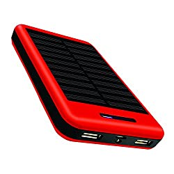 COOLNUT 13000mAh Solar Mobile Charger -Power Bank