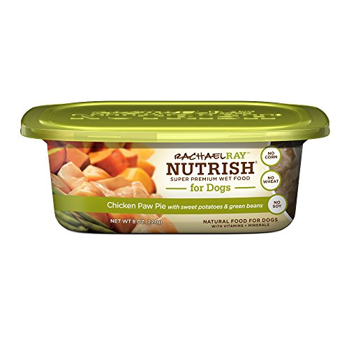 Rachael Ray Nutrish Natural Wet Dog Food, Chicken Paw Pie, Grain Free, 8 oz tub, Pack of 8 (Nutrish Dog Food compare prices)