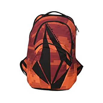 Volcom - Purma Backpack Mens Backpack In Black, Size: O/S, Color: Red Combo