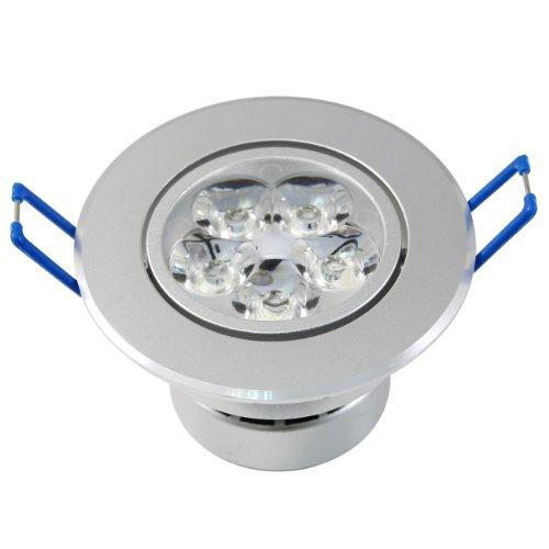 Lemonbest® Led Ceiling Bulb 15W (5*3W) Recessed Cabinet Spotlight 100V-245V Dimmable Warm White, Pack 2