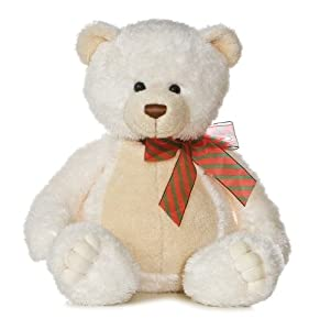 "Aurora Plush 22"" White Chocolate Bear"